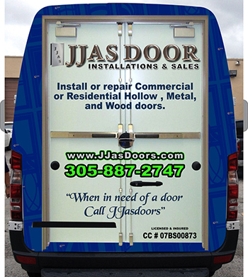 & JJAS Doors - Services | Commercial doors | Miami FL 33166